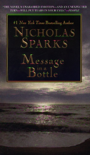 sparks message in a bottle intro Fifty-seven-year-old landon carter narrates the novel, reflecting on events from 40 years in the past the novel opens with a prologue, in which the older landon, living in the same north carolina town as he did at the age of 17, stands near the baptist church that figures prominently in the novel.