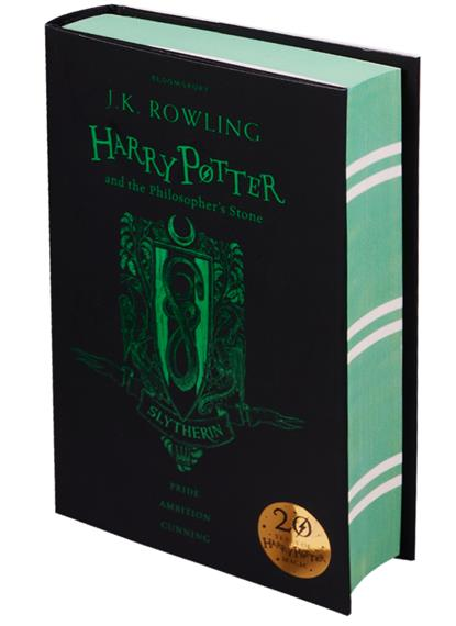Harry Potter and the Philosopher's Stone - Slytherin Edition Hardcover