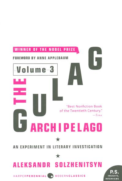 The Gulag Archipelago. Volume 3