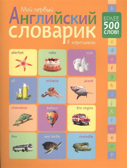 Мой первый английский словарик в картинках. Более 500 слов!