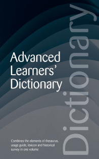 Advanced Learners' Dictionary
