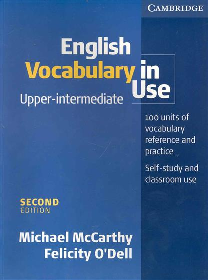 English Vocabulary in Use Upper-intermediate Second Edition